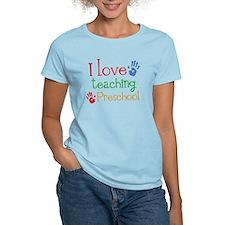 I Love Teaching Preschool T-Shirt