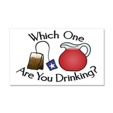 Which on are you drinking? Car Magnet 20 x 12