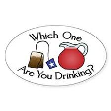 Which on are you drinking? Decal