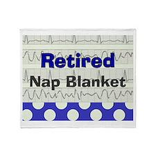 Retired Doctor/Nurse Throw Blanket