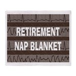 Medical Retirement Blanket Throw Blanket