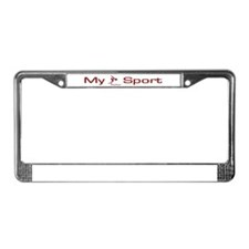 My Sport - Swimming License Plate Frame