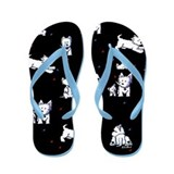 Block Party Westies Flip Flops