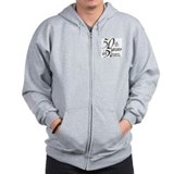 Unique Breakthrough Zip Hoodie