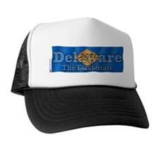 Delaware The First State Trucker Hat