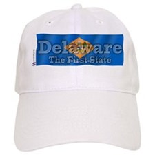 Delaware The First State Baseball Cap
