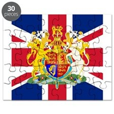 UK Flag and Coat of Arms Puzzle