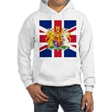 UK Flag and Coat of Arms Hoodie
