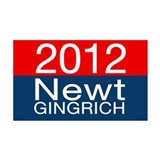 Newt Gingrich 2012 38.5 x 24.5 Wall Peel