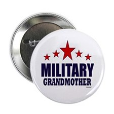 "Military Grandmother 2.25"" Button (10 pack)"