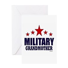 Military Grandmother Greeting Card