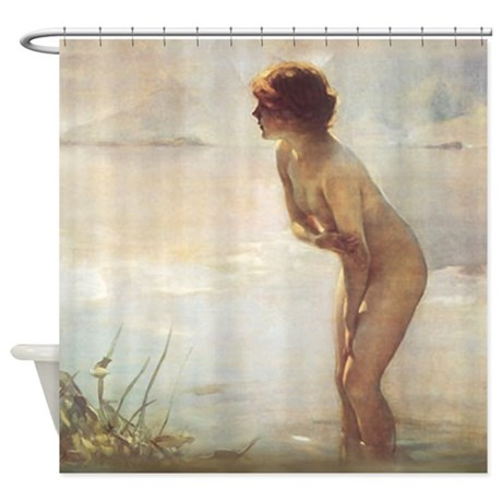 September Morn Shower Curtain