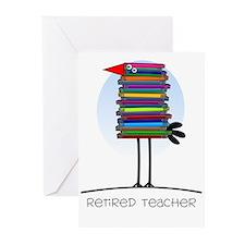 Retired Teacher II Greeting Cards (Pk of 10)