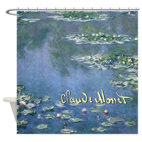 Water Lillies Claude Monet Shower Curtain