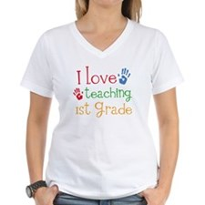 Love Teaching 1st Grade Shirt