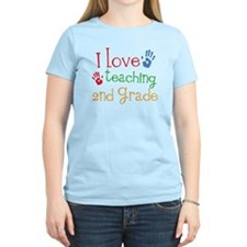 Love Teaching 2nd Grade T-Shirt