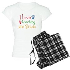 Love Teaching 2nd Grade Pajamas