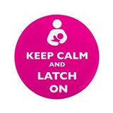 "Funny Breastfeeding 3.5"" Button"