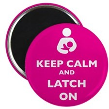 "Unique Breastfeeding 2.25"" Magnet (100 pack)"