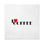 I LOVE FREEDOM COFFEE™ Queen Duvet