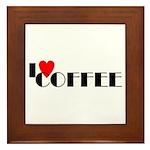 I LOVE FREEDOM COFFEE™ Framed Tile