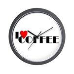 I LOVE FREEDOM COFFEE™ Wall Clock