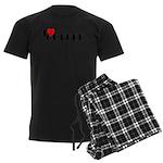 I LOVE FREEDOM COFFEE™ Men's Dark Pajamas
