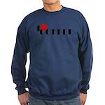 I LOVE FREEDOM COFFEE™ Sweatshirt (dark)