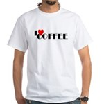 I LOVE FREEDOM COFFEE™ White T-Shirt