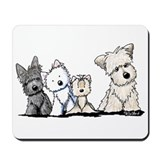 Terrier Time Mousepad