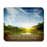 Thank you Mousepad