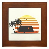 California Streamin' Framed Tile
