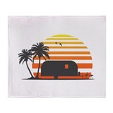 California Streamin' Throw Blanket