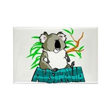 Koala Australia Souvenir Rectangle Magnet 10 pack