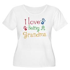 I Love Being A Grandma T-Shirt