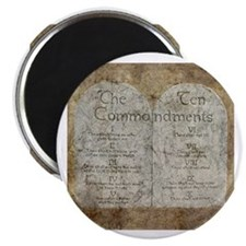 Ten Commandments Desi Magnet