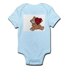 love mommy teddy Infant Bodysuit