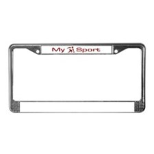 My Sport - Bowling License Plate Frame