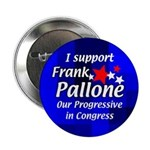 Re-elect Frank Pallone Campaign Button
