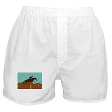 Cute Horse jumping Boxer Shorts
