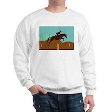 Cute Horse jumping Sweatshirt