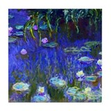 Monet - Water Lilies 1922 Tile Coaster