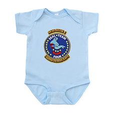 US - NAVY - Seal Team 4 Infant Bodysuit