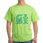 Let's Yoga Green T-Shirt