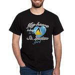 St. Lucian Valentine's designs Dark T-Shirt