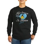 St. Lucian Valentine's designs Long Sleeve Dark T-