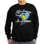 St. Lucian Valentine's designs Sweatshirt (dark)