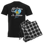 St. Lucian Valentine's designs Men's Dark Pajamas