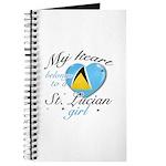 St. Lucian Valentine's designs Journal