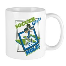 Soccer Girls Rule Mug